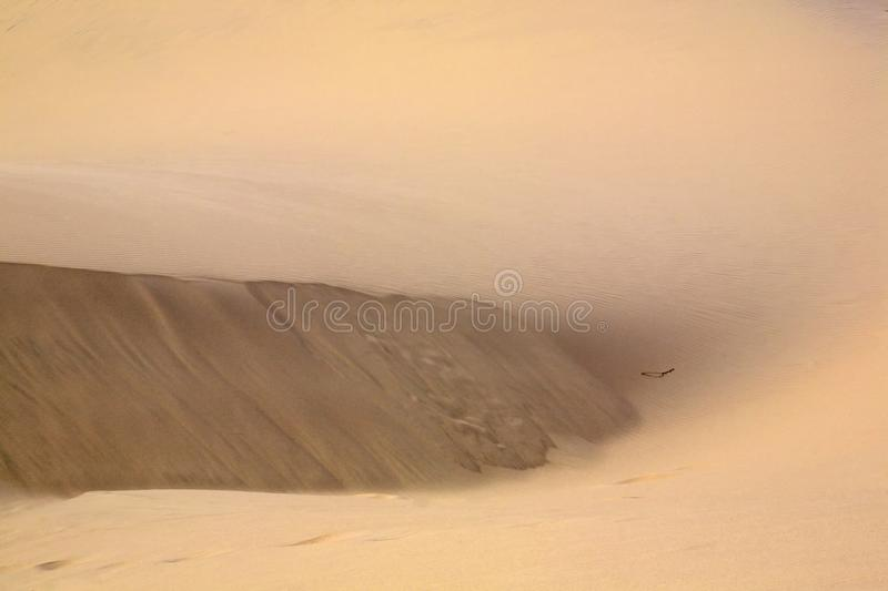 Rippling Sand and Dunes for background stock images