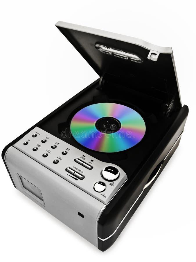Riproduttore di CD fotografie stock