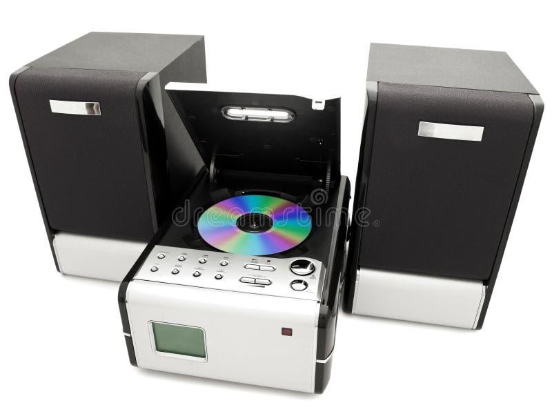 Riproduttore di CD fotografia stock