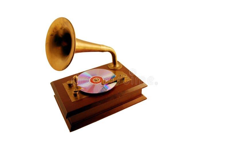 Riproduttore di CD antico immagini stock