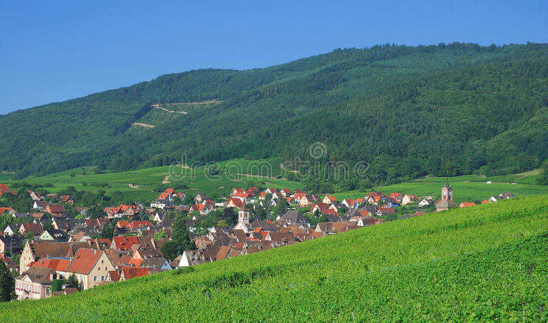 Riquewihr, Alsacia fotos de archivo libres de regalías
