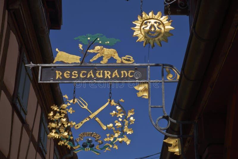 Riquewihr France stock images