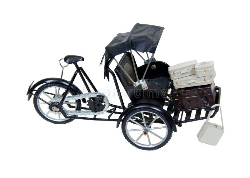 Riquexó e bagagem foto de stock royalty free