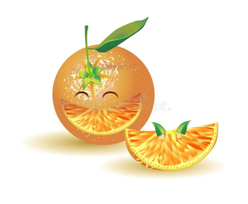 Rire naturaliste d orange