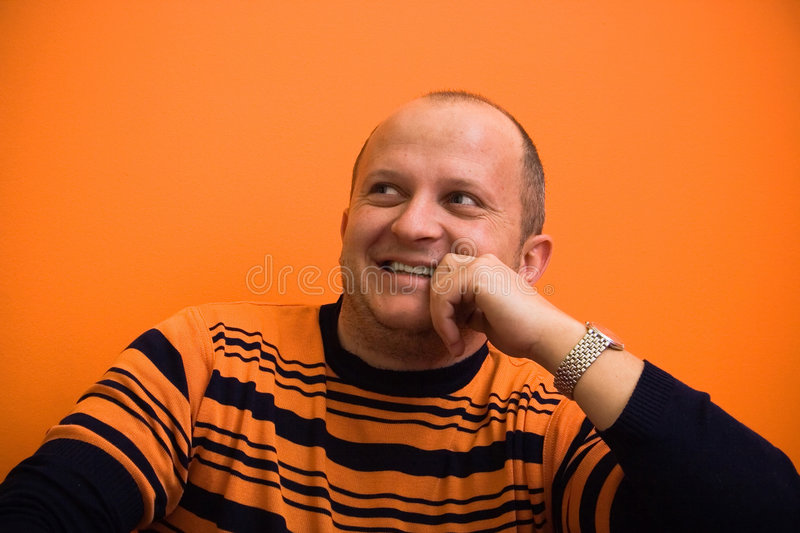 Rire normal image stock