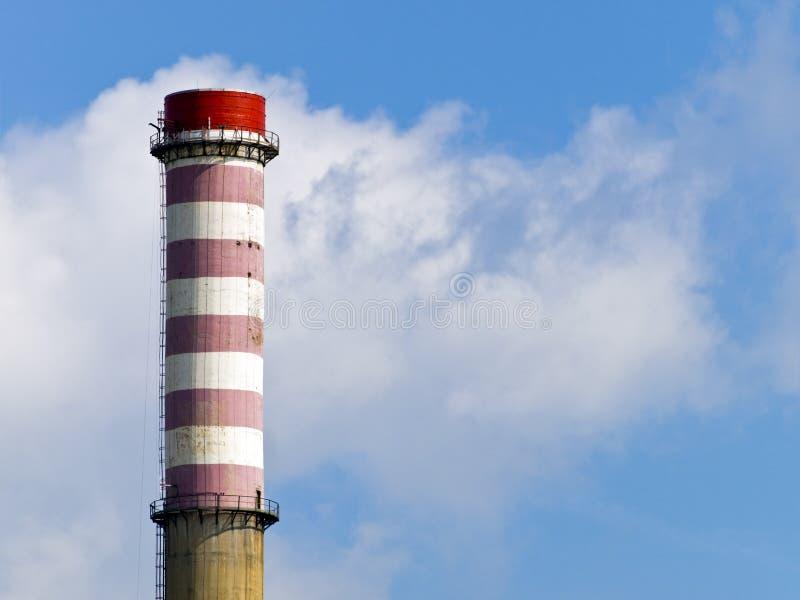 Riscaldamento e centrale elettrica immagine stock libera da diritti