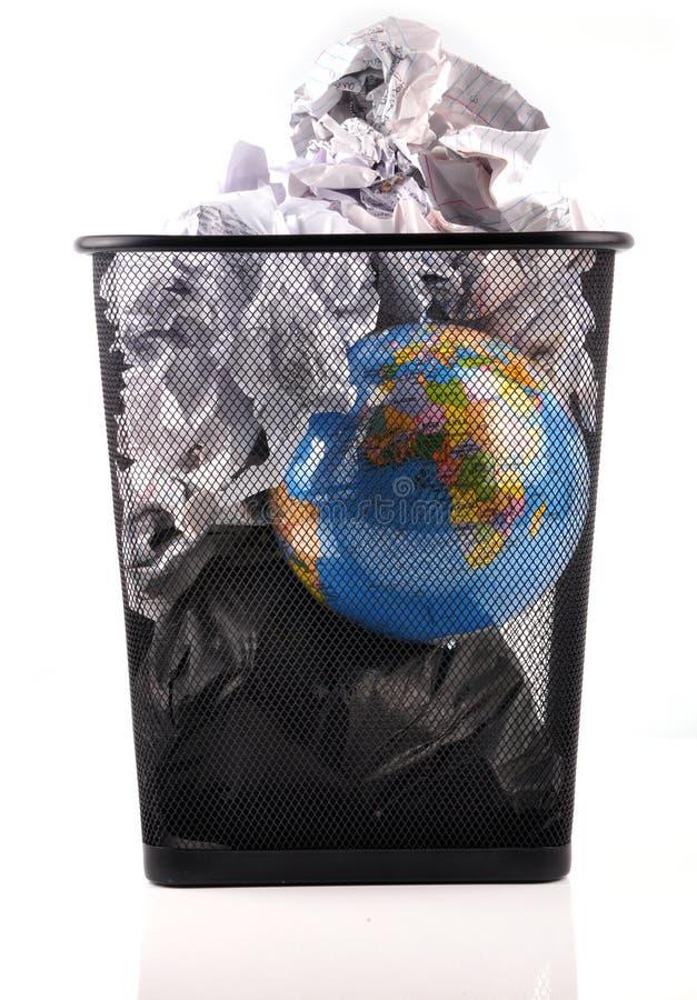 Riscaldamento globale immagine stock