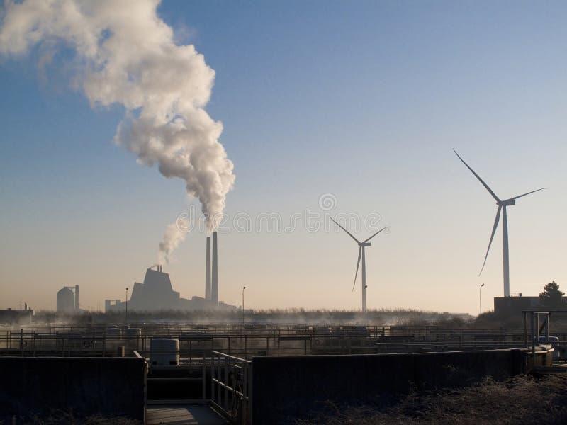 Riscaldamento globale - energia dell'esperienza e del fut immagini stock