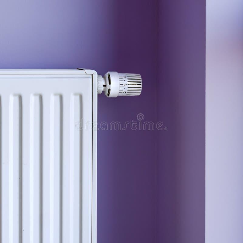 Riscaldatore con il termostato fotografia stock libera da diritti