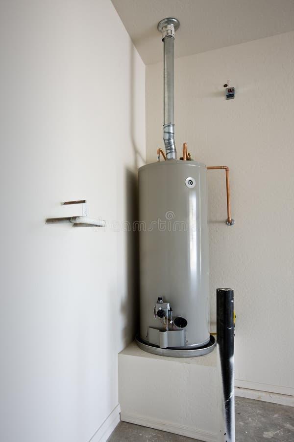 Riscaldatore di acqua calda fotografie stock libere da diritti