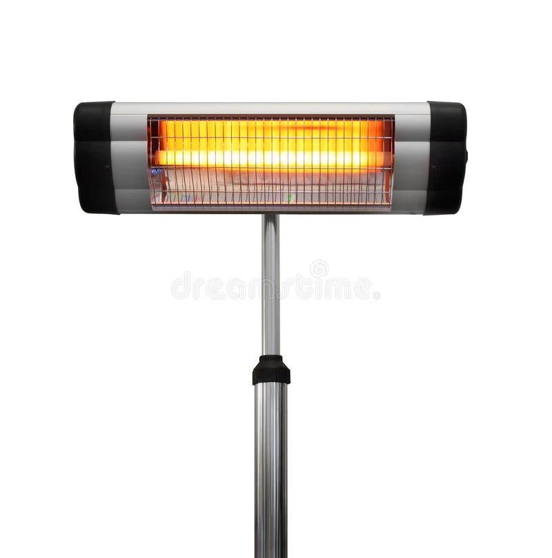 Riscaldatore infrarosso fotografia stock