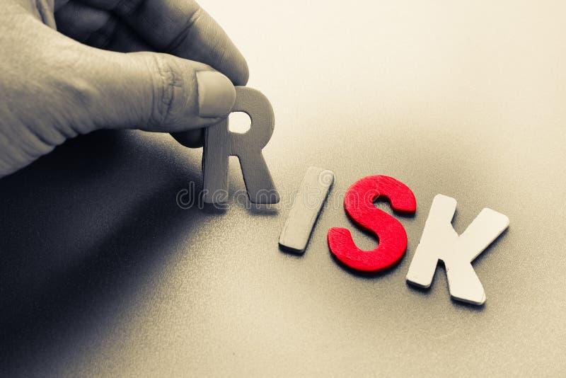 rischio fotografia stock