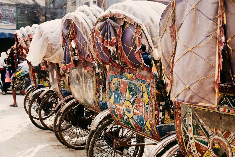 Risciò nepalese tradizionale cinque immagini stock libere da diritti