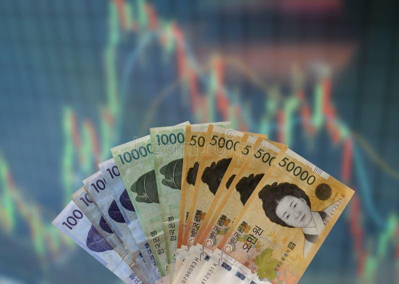 Risco de mercado de valores de ação imagens de stock royalty free