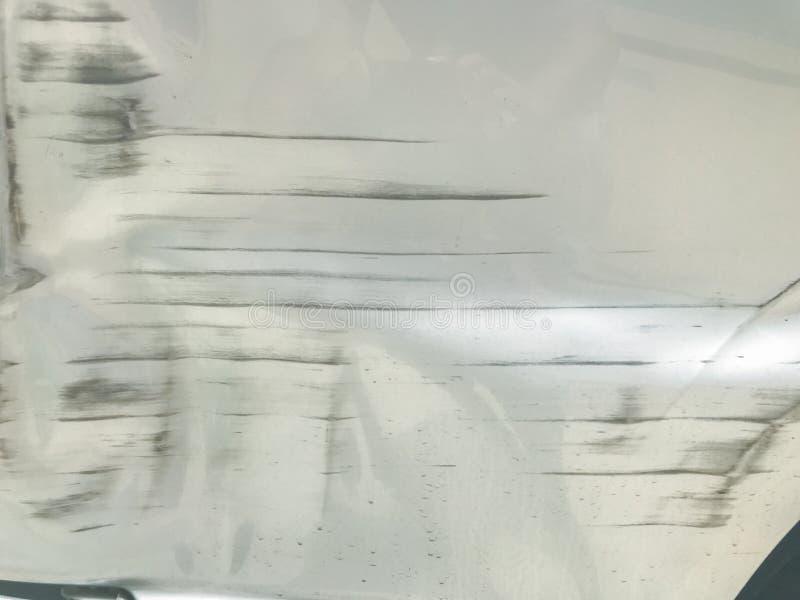Risco do carro lateral no acidente fotografia de stock royalty free