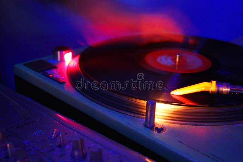 Risco do DJ imagem de stock royalty free