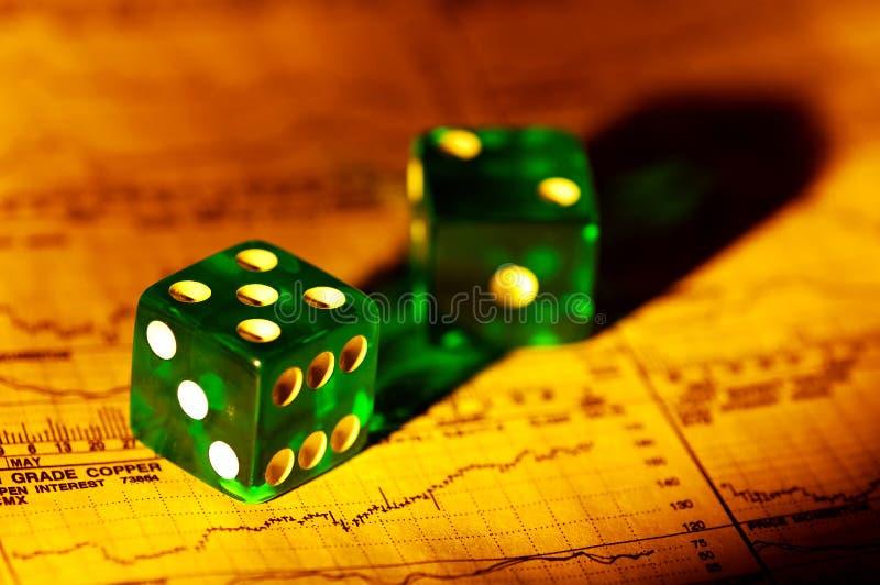 Riscos de investimento foto de stock