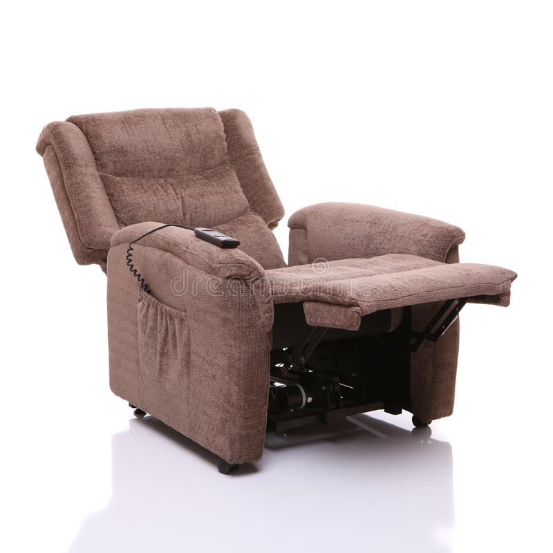 Free Rise And Recline Chair, Fully Reclined. Stock Photo - 27128160