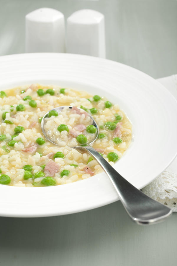 Download Rise E Bisi Risotto Soup Rice And Peas Stock Image - Image: 26595965