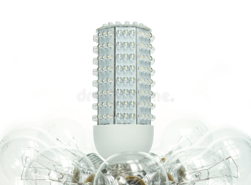 Download Rise of the LED stock image. Image of bulb, future, white - 14075287