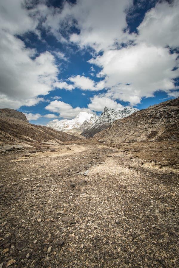 Riserva naturale di Yading fotografia stock