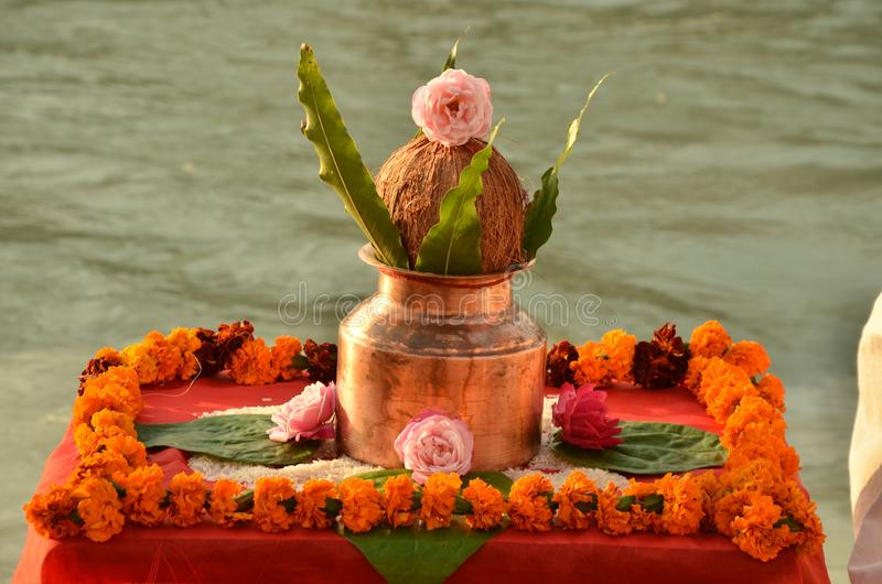 Rishikesh foto de stock