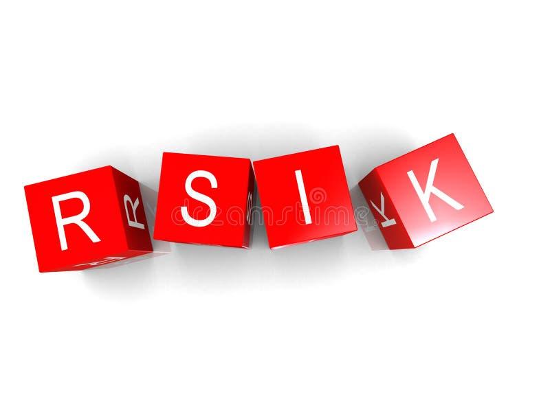 Risico royalty-vrije illustratie