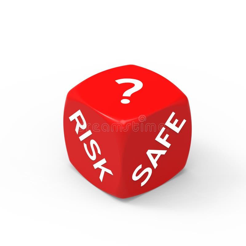 Risico of Veiligheid royalty-vrije stock afbeeldingen