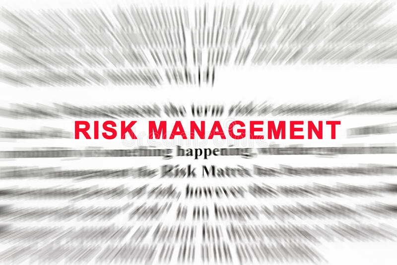 Risikomanagement lizenzfreies stockfoto
