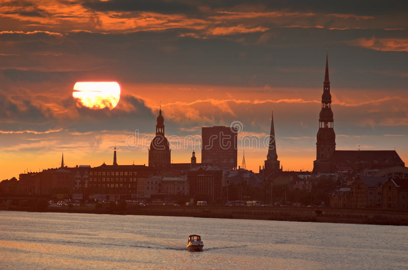 Download Rising. stock photo. Image of light, cathedral, boat, sunlight - 7055300