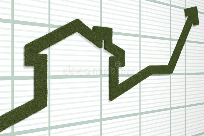 Download Rising arrow stock illustration. Illustration of graph - 27170262
