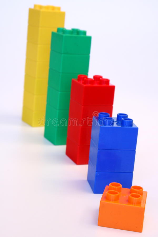 Download Rising building blocks stock photo. Image of high, economic - 12788916