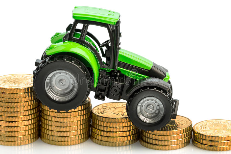 Rising costs in agriculture royalty free stock images