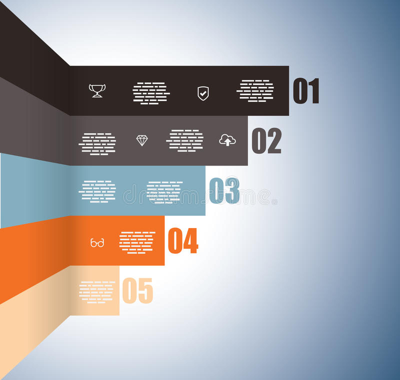 Rising graph with numbers vector illustration