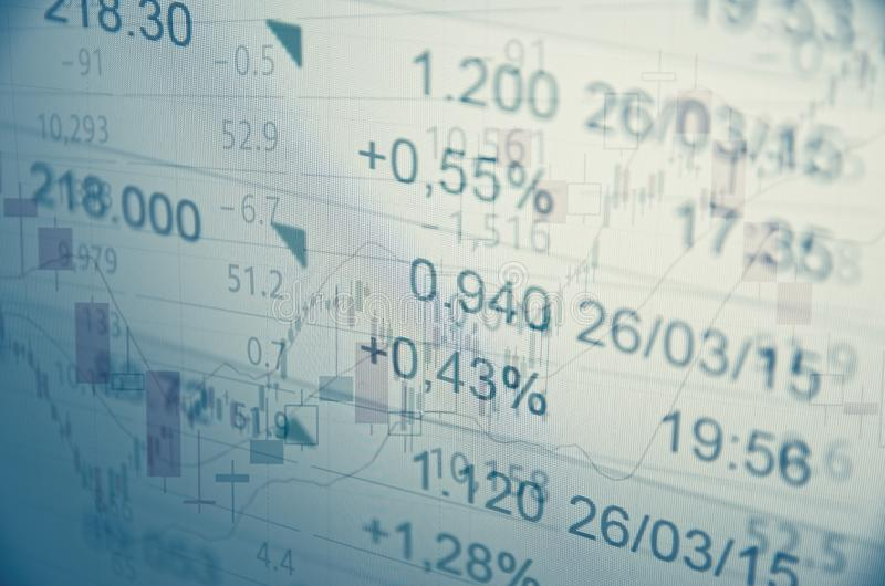 Rising market stock images