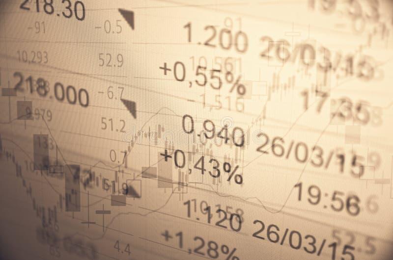 Rising market royalty free stock images