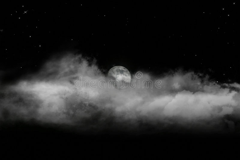 Download Rising Moon Royalty Free Stock Photography - Image: 7676527