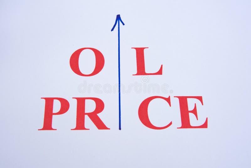 Rising Oil Price. Royalty Free Stock Photo