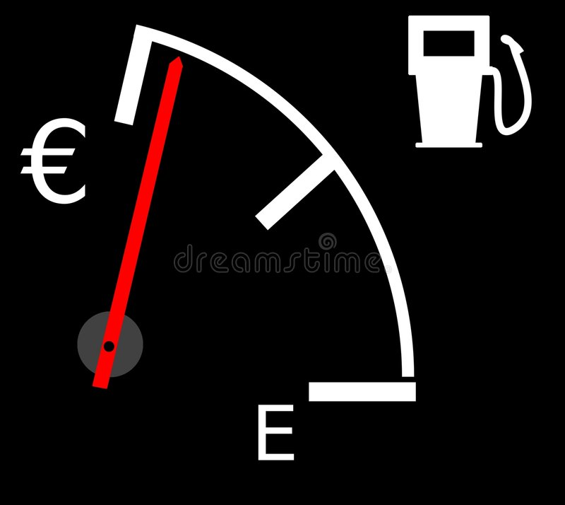 Download Rising petrol/fuel prices stock illustration. Image of gauge - 6563938