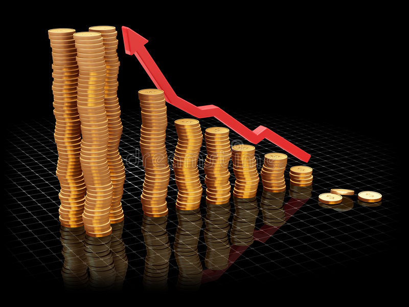 Download Rising profits stock image. Image of budget, money, coin - 1379507