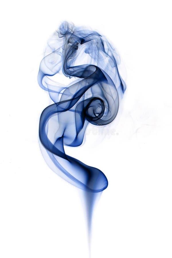 Rising smoke. royalty free stock photos