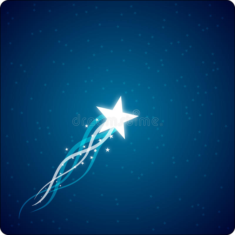 Download Rising Star stock image. Image of gleaming, pearl, star - 19510551