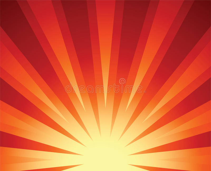 Download Rising sun stock vector. Image of star, design, sunset - 10367057