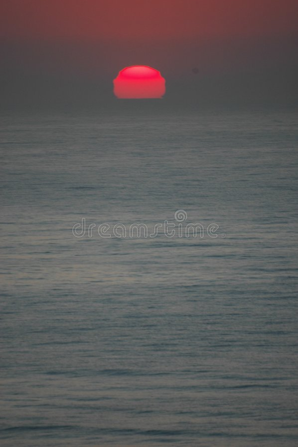 Download The Rising Sun stock image. Image of rise, sunrise, beach - 153985