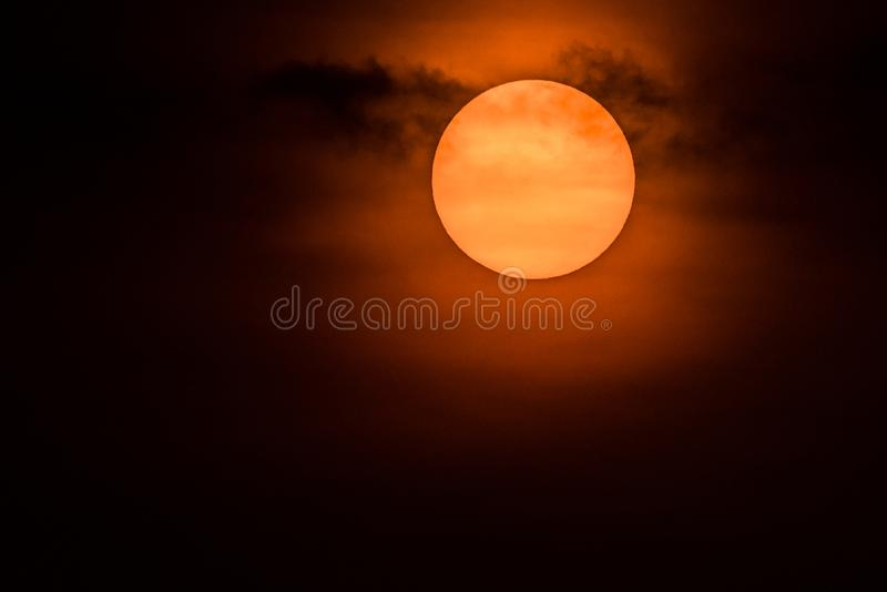 The Rising Sun royalty free stock photography