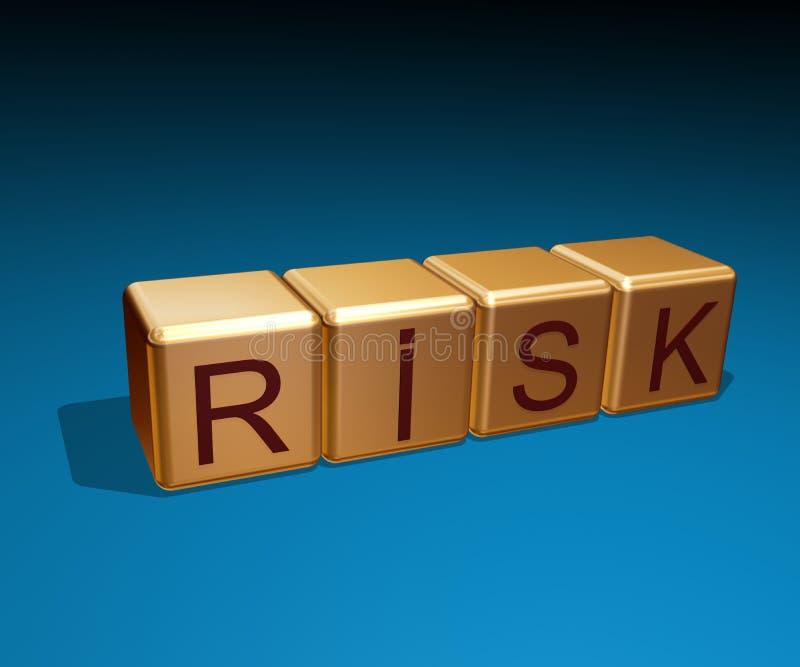 risk stock illustrationer
