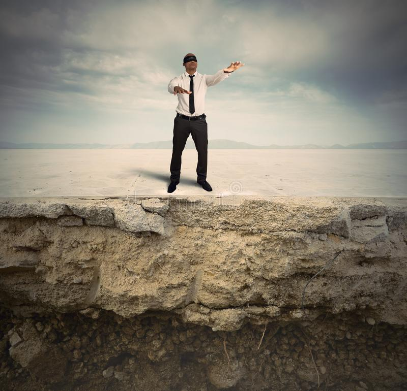 Risk in business. Concept of difficulty and problems in business stock photos