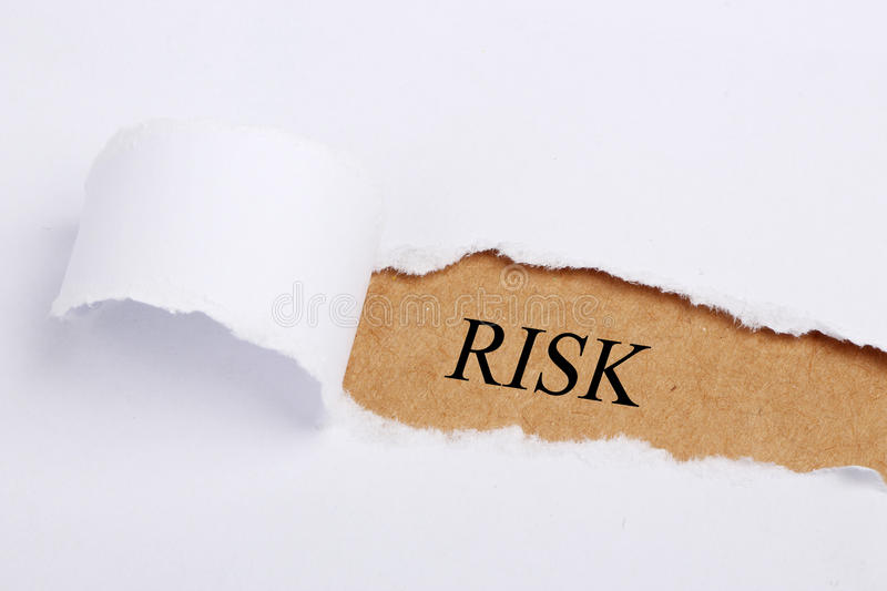 Risk Concept royalty free stock photo
