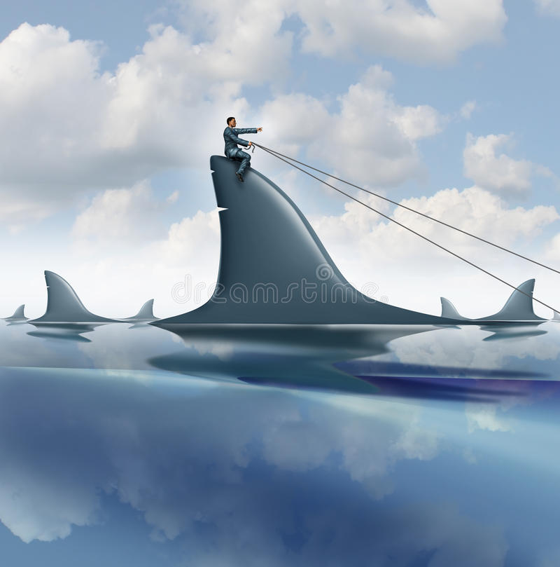 Risk Control royalty free illustration