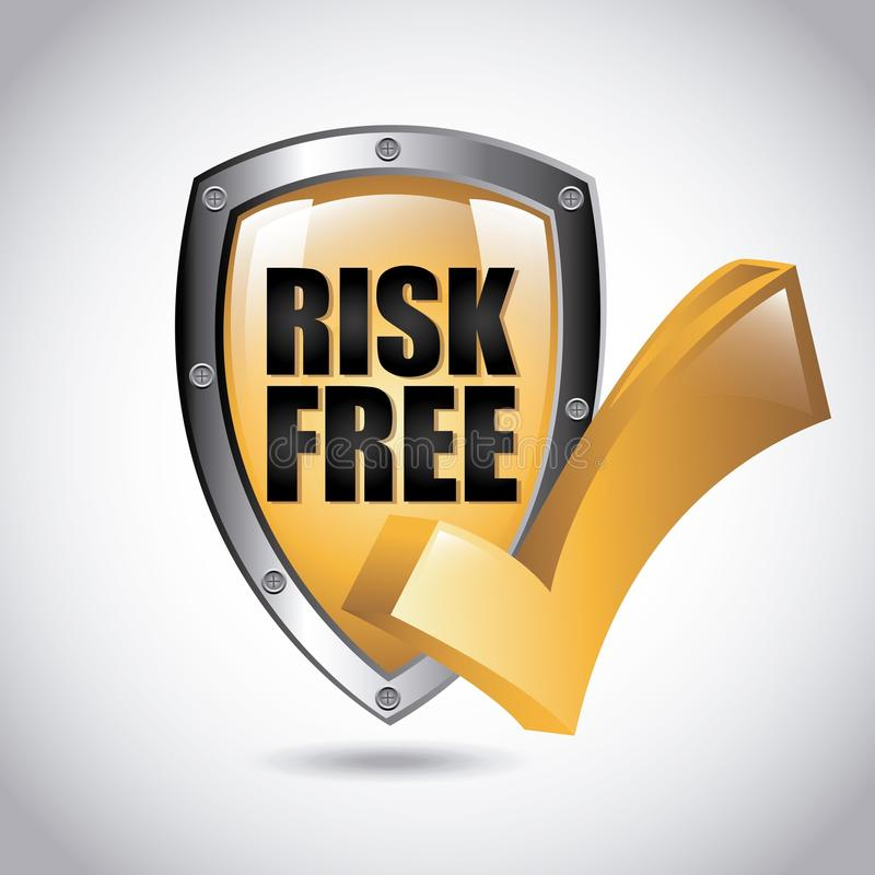 Download Risk free design stock vector. Illustration of risk, approval - 47489045